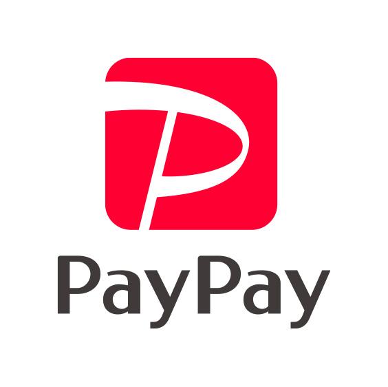 PayPayでもお支払い可能です